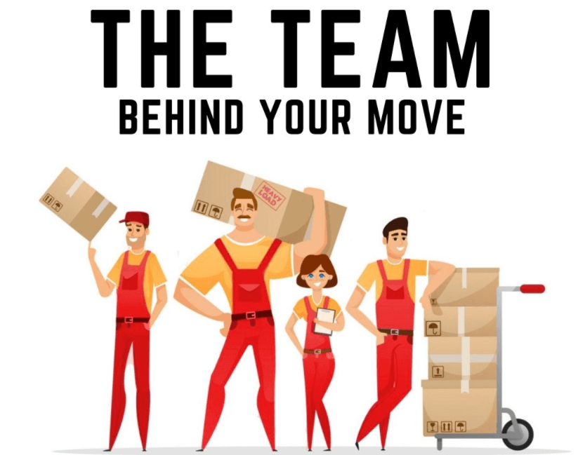 Get Introduced to our Team of Moving Professionals